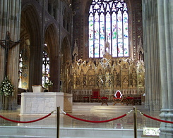 #1015 Inside the St. Patrick's Cathedral (RC) - Armagh (Northern Ireland)