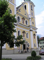 #1073 Roman Catholic Deanery Church - St. Johann in Tirol (Austria)