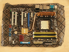 #1308 Asus M2N-SLI Deluxe motherboard for my new PC