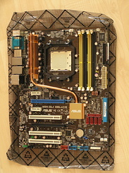 #1309 Asus M2N-SLI Deluxe motherboard for my new PC