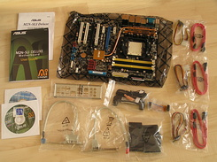 #1310 Asus M2N-SLI Deluxe motherboard for my new PC