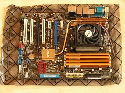 #1316 Asus M2N-SLI Deluxe motherboard for my new PC