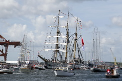"#1336 Indonesian Tall Ship KRI ""Dewaruci"" (Sail Amsterdam 2010)"