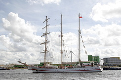 "#1364 Polish Tall Ship ORP ""Iskra"" (Sail Amsterdam 2010)"