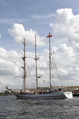 "#1365 Polish Tall Ship ORP ""Iskra"" (Sail Amsterdam 2010)"