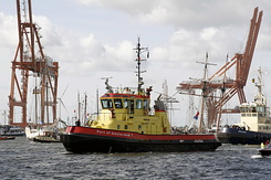"#1378 Dutch Harbour Tug ""Poseidon"" (Sail Amsterdam 2010)"
