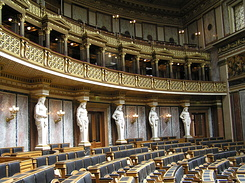 #1402 Debating Chamber of the Austrian Parliament - Vienna (Austria)