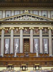 #1403 Debating Chamber of the Austrian Parliament - Vienna (Austria)