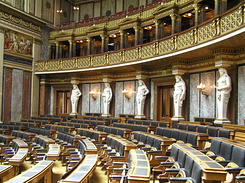 #1404 Debating Chamber of the Austrian Parliament - Vienna (Austria)