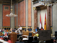 #1407 Federal Council Chamber of the Austrian Parliament - Vienna (Austria)