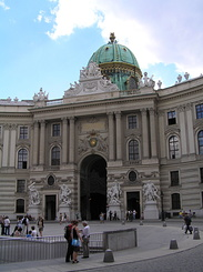 #1409 Michaelertrakt (St. Michael's Wing) at Hofburg - Vienna (Austria)
