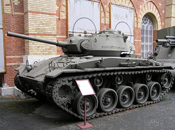 #1412 M24 Chaffee Light Tank (HGM) - Vienna (Austria)