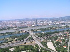 #1433 View from Donauturn (Danube Tower) - Vienna (Austria)