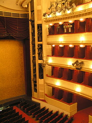 #1489 Burgtheater (Imperial Court Theatre) Auditorium - Vienna (Austria)