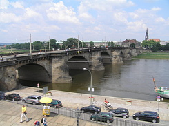 #1756 Augustusbrücke (Friedrich August Bridge) - Dresden (Germany)