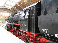 #1791 Steam Locomotive (BR 52 5448-7) - Leipzig Hbf (Germany)