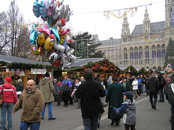#1810 Viennese Christmas Market at City Hall Square - Vienna (Austria)