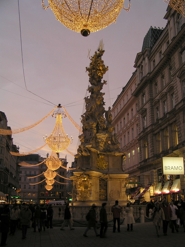 20051203-22 Pestsäule (Plague Column) at Graben - Vienna (Austria).jpg