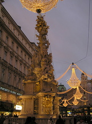#1828 Pestsäule (Plague Column) at Graben - Vienna (Austria)
