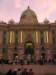 #1833 Michaelertrakt (St. Michael's Wing) at Hofburg - Vienna (Austria)