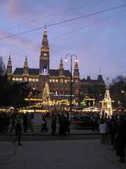 #1834 Viennese Christmas Market at City Hall Square - Vienna (Austria)