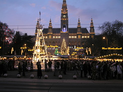 #1835 Viennese Christmas Market at City Hall Square - Vienna (Austria)