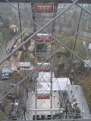 #1866 View from the Viennese giant Ferris wheel - Vienna (Austria)
