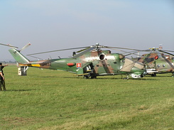 #1896 Slovak Air Force - Mil Mi-24V Hind-E (0832)