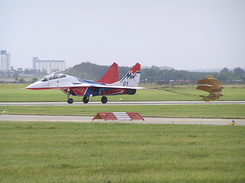 #1948 Russian Air Force (Swifts) - MiG-29UB Fulcrum-B (01 Blue)
