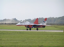 #1949 Russian Air Force (Swifts) - MiG-29UB Fulcrum-B (01 Blue)