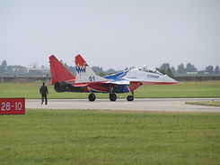 #1950 Russian Air Force (Swifts) - MiG-29UB Fulcrum-B (01 Blue)
