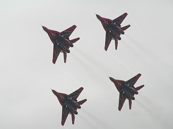 #1971 Russian Air Force (Swifts) - MiG-29 Fulcrum formation