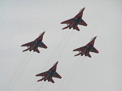 #1973 Russian Air Force (Swifts) - MiG-29 Fulcrum formation