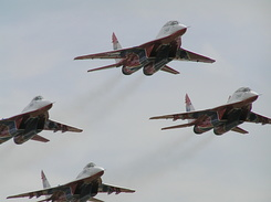 #1975 Russian Air Force (Swifts) - MiG-29 Fulcrum formation