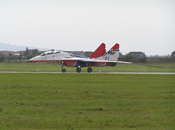 #1984 Russian Air Force (Swifts) - MiG-29UB Fulcrum-B (01 Blue)