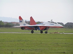 #1985 Russian Air Force (Swifts) - MiG-29UB Fulcrum-B (01 Blue)