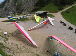 #2144 Delta Gliders at Tegelberg mountain - Schwangau (Germany)