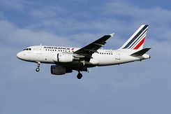 #2157 Air France - Airbus A318-111 (F-GUGN)