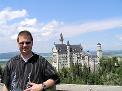 #2227 Matthijs and Neuschwanstein Castle - Hohenschwangau (Germany)