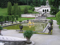 #2235 Wasserparterre (Water Parterre) at Schloss Linderhof - Ettal (Germany)
