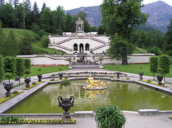 #2236 Wasserparterre (Water Parterre) at Schloss Linderhof - Ettal (Germany)