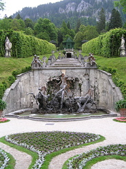 #2242 Neptunbrunnen (Neptune Fountain) at Schloss Linderhof - Ettal (Germany)