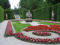 #2243 Eastern Parterre at Schloss Linderhof - Ettal (Germany)