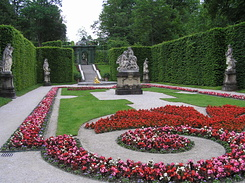 #2244 Eastern Parterre at Schloss Linderhof - Ettal (Germany)