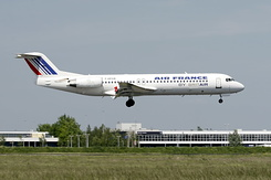 #2427 Air France (Brit Air) - Fokker 100 (F-GPXB)