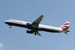 #2605 British Airways - Airbus A321-231 (G-EUXK)
