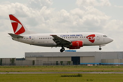 #2650 Czech Airlines - Boeing 737-55S (OK-CGK)