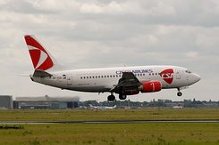 #2651 Czech Airlines - Boeing 737-55S (OK-CGK)