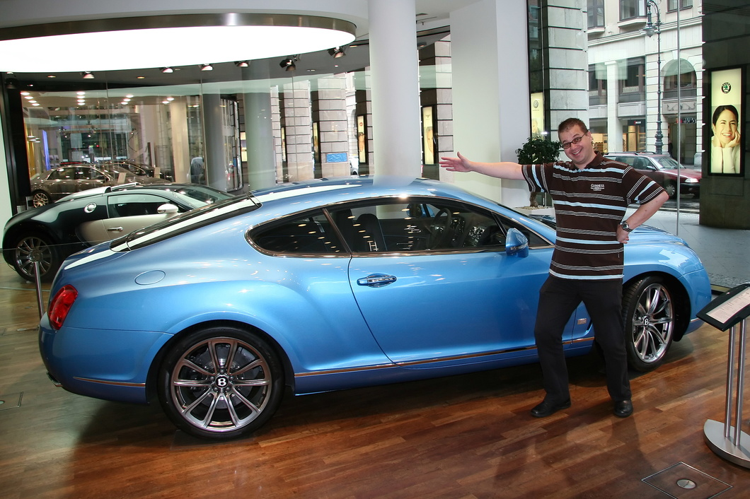#2664 Matthijs and Bentley Continental GT Speed (Series 51)