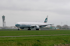 #2885 Cathay Pacific Airways - Boeing 777-367ER (B-KQE)